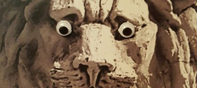 Googly Eye Statue