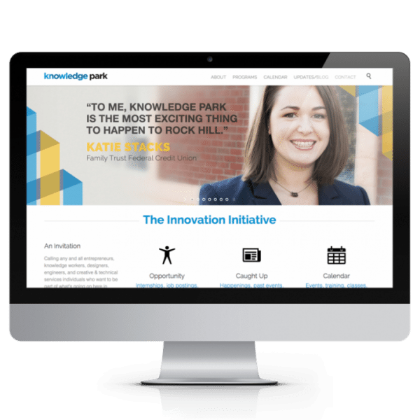 Knowledge Park Website Design