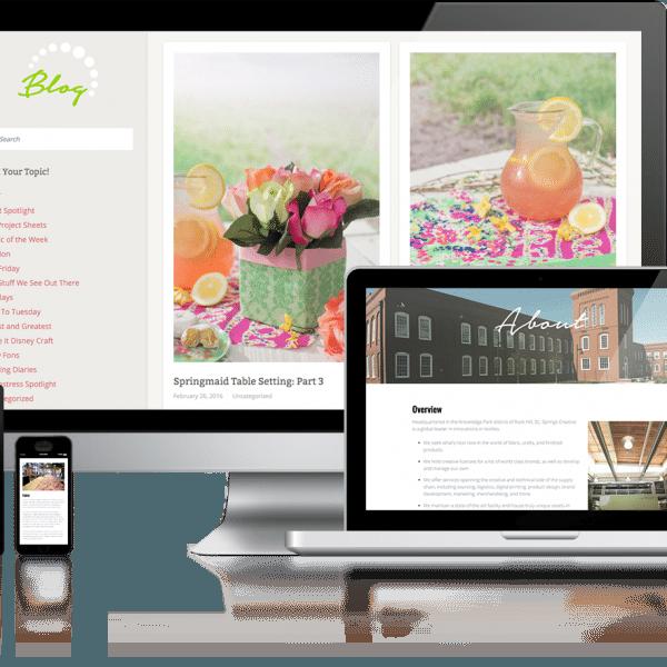 Springs Creative Content Design