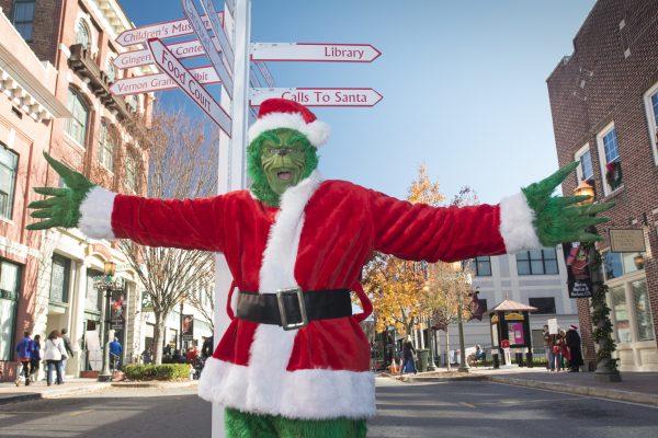 ChristmasVille Grinch