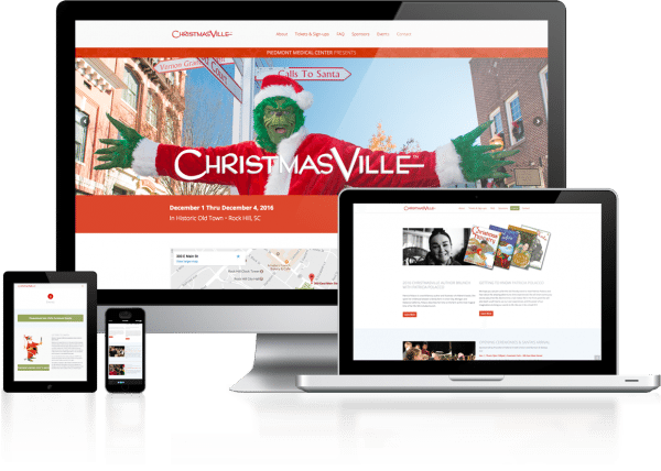 ChristmasVille Rock Hill Website