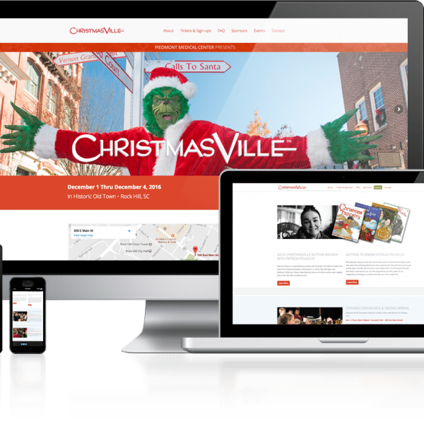 ChristmasVille Rock Hill Website