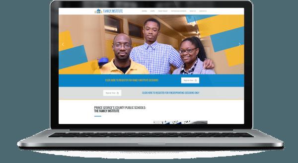 Family Institute Web Design