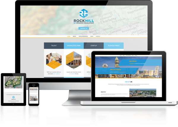 RH Economic Development Web Design