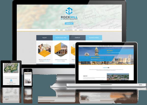 RH Economic Development Web Design
