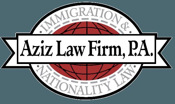 Aziz Immigration Law Logo