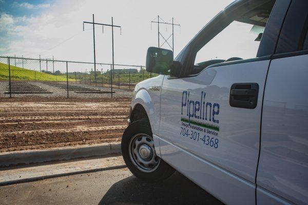 Pipeline Irrigation Truck