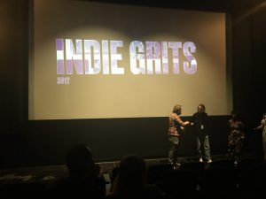 Micah on Stage at Indie Grits Film Festival