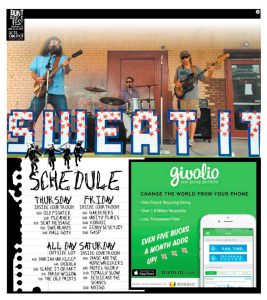Don't Sweat It Fest Schedule