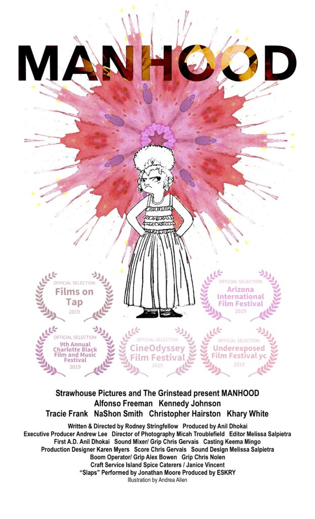 manhood short film poster festival
