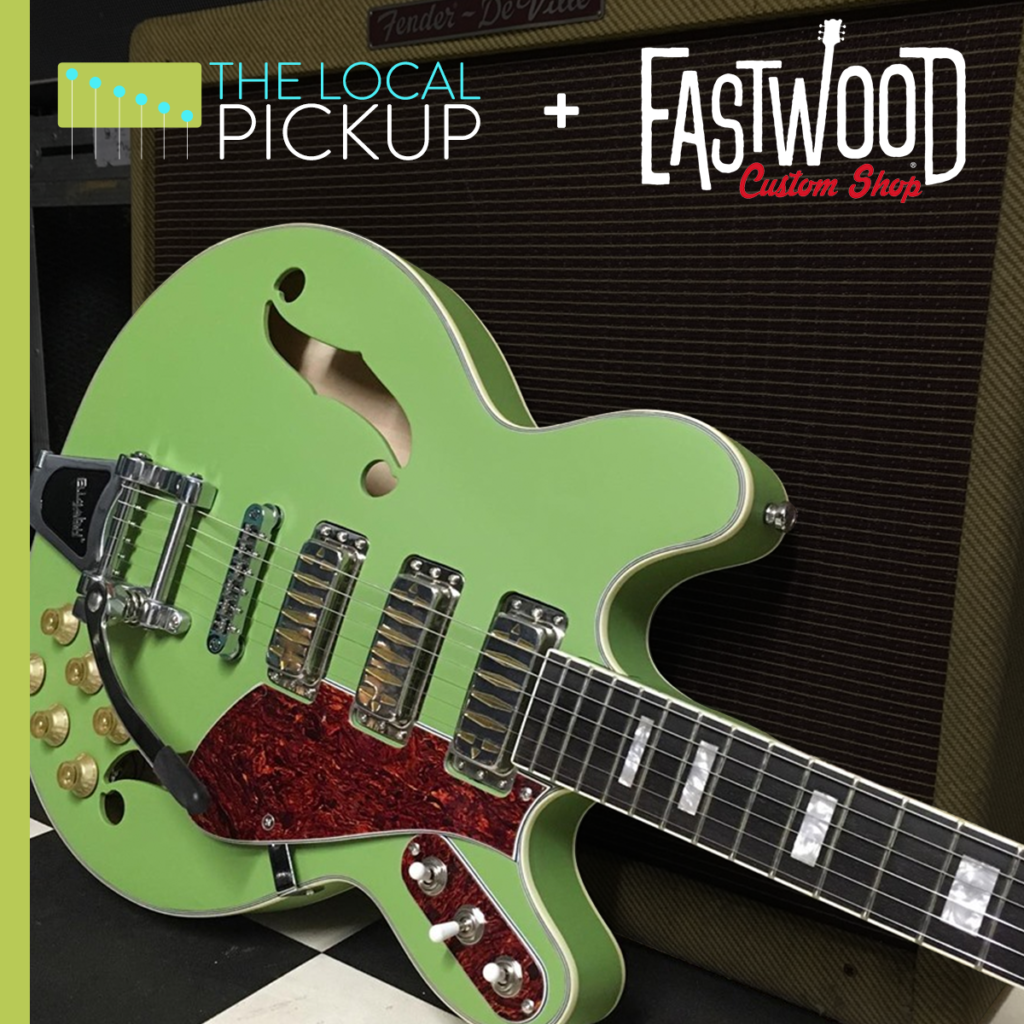 eastwood guitars custom shop the local pickup