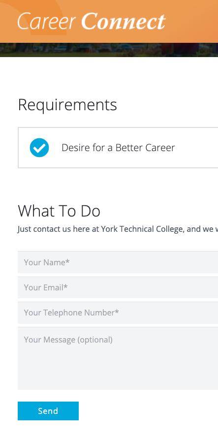 Career Connect Concierge Service